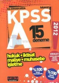 KPSS A Hukuk - İktisat - Maliye - Muhasebe - İşletme