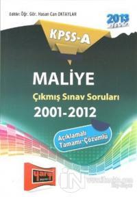 KPSS-A Maliye Çıkmış Sınav SoruIarı (2001-2012)