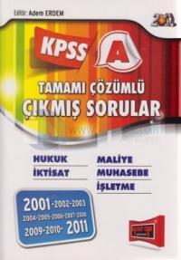 KPSS A Tamamı Çözümlü Çıkmış Sorular 2012