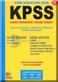 KPSS B Genel Kültür - Genel Yetenek 2003