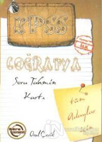 KPSS Coğrafya Soru Tahmin Kartı