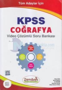 KPSS Coğrafya Video Çözümlü Soru Bankası