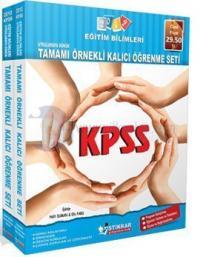 KPSS Eğitim Bilimleri 2012 Uygulamaya Dönük Tamamı Örnekli Kalıcı Öğrenme Seti (İki Kitap)