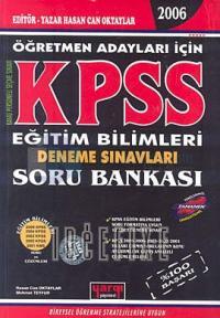 KPSS Eğitim Bilimleri Deneme Sınavları Soru Bankası