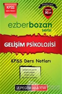 KPSS Ezberbozan Eğitim Bilimleri Gelişim Psikolojisi Ders Notları