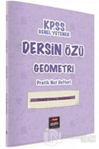 KPSS Genel Yetenek Dersin Özü Geometri Pratik Not Defteri