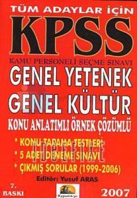 KPSS Genel Yetenek Genel Kültür 2007