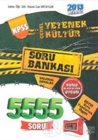 KPSS Genel Yetenek Genel Kültür 5555 Soru Bankası 2013