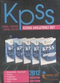 KPSS Genel Yetenek - Genel Kültür Konu Anlatımlı Set