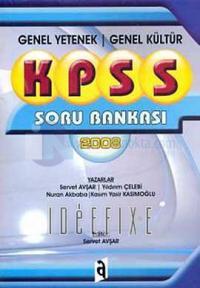 KPSS Genel Yetenek Genel Kültür Soru Bankası 2008