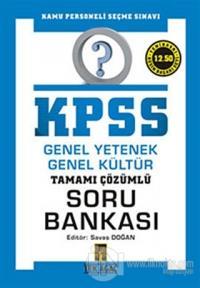 KPSS Genel Yetenek Genel Kültür Tamamı Çözümlü Soru Bankası