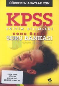 KPSS Hazırlık Eğitim Bilimleri Konu Özetli Soru BankasıÖğretmen Adayları İçin