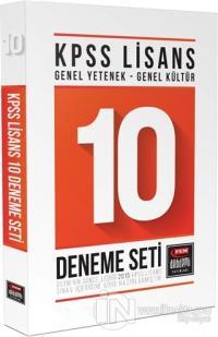 KPSS Lisans Genel Yetenek - Genel Kültür 10 Deneme Seti