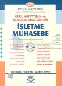 KPSS, Müfettişlik ve Uzmanlık Sınavları İçinİşletme Muhasebe