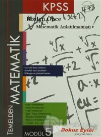 KPSS Temelden Matematik Modül 5
