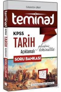 KPSS Teminat Tarih Açıklamalı Soru Bankası 2018
