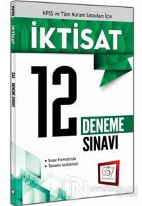 KPSS ve Tüm Kurum Sınavları İçin İktisat - 12 Deneme Sınavı