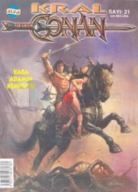 Kral ConanSayı: 21Kara Adamın Kemikleri
