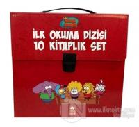 Kral Şakir İlk Okuma Kitapları Çantalı Set (10 Kitap Takım) - Kırmızı