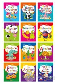 Küçük Kaşifin Boyama Kitabı (12 Kitap Takım) Kolektif