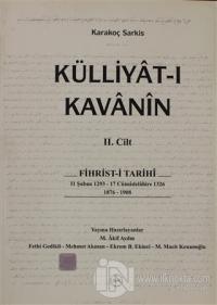 Külliyat-ı Kavanin 2. Cilt