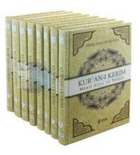 Kur'an-ı Kerim'in Türkçe Meali ve Tefsiri 8 Cilt Takım