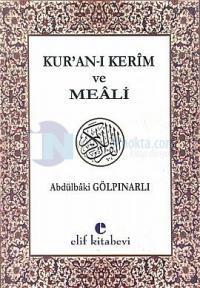 Kuran-ı Kerim ve Türkçe Meali