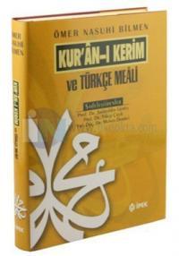Kur'an-ı Kerim ve Türkçe Meali (Cami Boy)