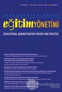 Kuram ve Uygulamada Eğitim Yönetimi Dergisi 2020 Yılı Aboneliği Sayı: 4