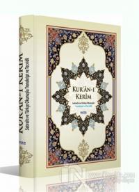 Kur'an-ı Kerim Satıraltı ve Türkçe Okunuşlu (Orta Boy) (Ciltli)