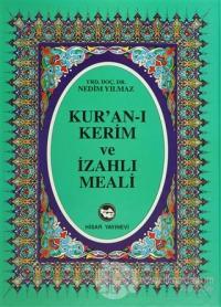 Kur'an-ı Kerim ve İzahlı Meali (Rahle Boy) (Ciltli)