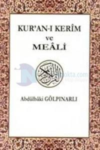 Kuran-ı Kerim ve Meali