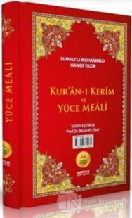 Kur'an-ı Kerim ve Yüce Meali (Cami Boy) (Ciltli)