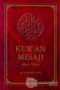 Kur'an Mesajı Meal Tefsiri Büyük Boy (Kutulu) (Ciltli)