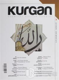 Kurgan Edebiyat Dergisi Sayı: 49 Mayıs - Haziran 2019