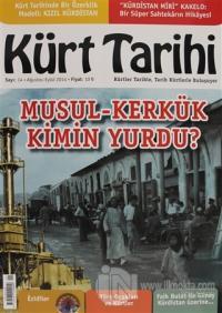 Kürt Tarihi Dergisi Sayı: 14 Ağustos - Eylül 2014