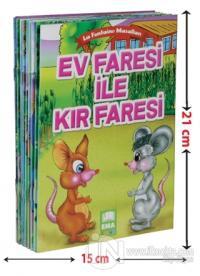 La Fontaine Masalları (10 Kitap Takım - Küçük Boy) (Ciltli)