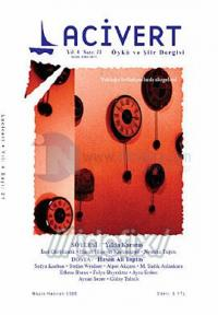Lacivert Öykü ve Şiir Dergisi Sayı: 21 (Mayıs-Haziran 2008)