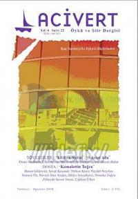 Lacivert Öykü ve Şiir Dergisi Sayı: 22 (Temmuz-Ağustos 2008)