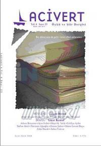 Lacivert Öykü ve Şiir Dergisi Sayı: 23 (Eylül-Ekim 2008)