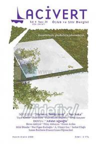Lacivert Öykü ve Şiir Dergisi Sayı: 24 (Kasım-Aralık 2008)