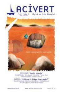 Lacivert Öykü ve Şiir Dergisi Sayı: 51