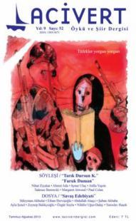 Lacivert Öykü ve Şiir Dergisi Sayı: 52