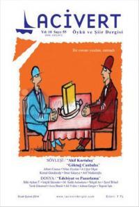 Lacivert Öykü ve Şiir Dergisi Sayı: 55 (Ocak - Şubat 2014)