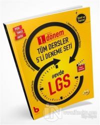 LGS 1. Dönem Tüm Dersler 5'li Deneme Seti