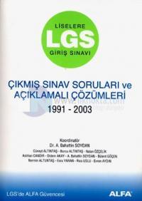 Lgs Çıkmış Sınav Soruları ve Çözümleri 1991-2003