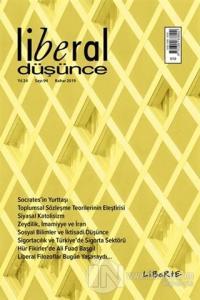 Liberal Düşünce Dergisi Sayı: 94 Bahar 2019 Kolektif