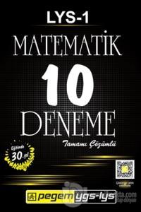 LYS - 1 Matematik Tamamı Çözümlü 10 Deneme