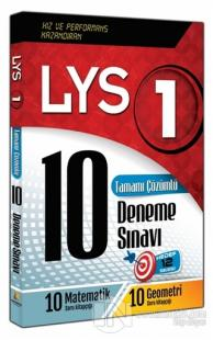 LYS 1 Tamamı Çözümlü 10 Deneme Sınavı