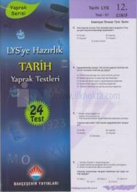 LYS'ye Hazırlık Tarih Yaprak Testleri 12. Sınıf
